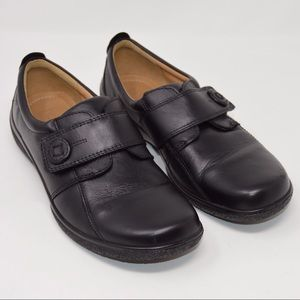 Hotter Sugar Leather Driving Loafers 8-1/2